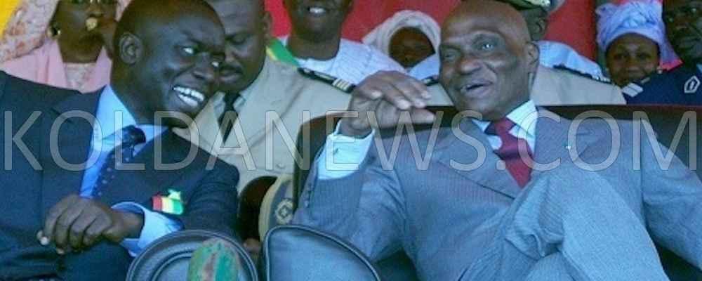 Abdoulaye Wade, et Idrissa Seck