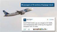Un vol EgyptAir entre Paris et Le Caire a disparu des radars