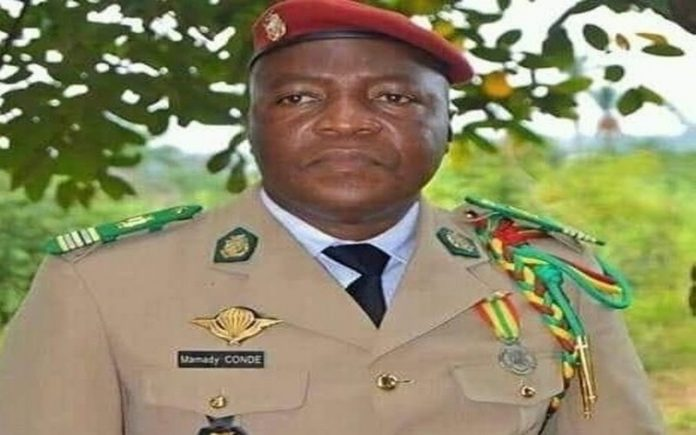 Guinée Conakry : le commandant du camp militaire de Kindia ...Les Ondes De Guinee